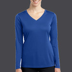 Ladies Long Sleeve PosiCharge ® Competitor™ V Neck Tee