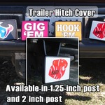 "Receiver Hitch Cover (2"" or 1 1/4"")"