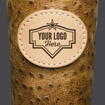 Frio 24-7 Cup w/ Custom Badge Leather Wrap